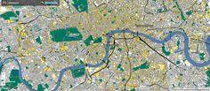 London: This Roy Lichtenstein-Themed Map Makes Pop Art of The World - CityLab