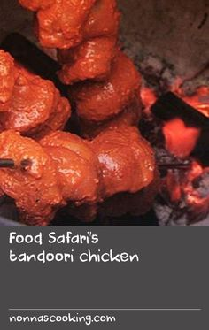 Food Safari's tandoori chicken | This recipe is from a beautiful Pakistani woman called Nighat who makes her own bread every morning and thinks nothing of catering for fifty people! The chicken, with its incredible fresh mint sauce, is simple and very, very delicious. Serve with roti, tomato and lettuce. If you enjoyed Nighat's Food Safari recipe, you might also like our fast-and-easy tandoori chicken pizza, using a whole roasted chicken\or pappadums with tandoori chicken. Tasty Bread Recipe, Delicious Cake Recipes, Recipe Recipe, Recipe Using Chicken, Roast Chicken Recipes, Tandoori Chicken, Chicken Pizza, Roasted Chicken