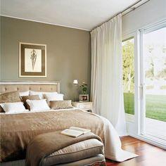 Orienta bien tu cama ¡y dormirás mejor! Art Deco Bedroom, Bedroom Wall, Master Bedroom, Bedroom Decor, Interior Accessories, Small Rooms, My Dream Home, House Design, Living Room