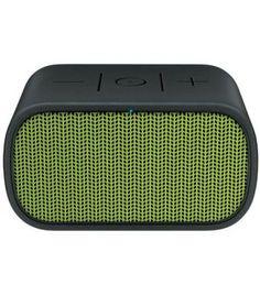 Buy UE Mini Boom by Ultimate Ears Bluetooth NFC Portable Speaker from our Speakers range at John Lewis & Partners. Laptop Speakers, Multimedia Speakers, Logitech, Bluetooth, Mini, Ears, Yellow, Traveling, Outdoors