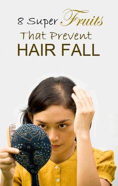8 Super Fruits That Prevent Hair Fall
