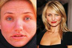cameron diaz without makeup - celebs without makeup