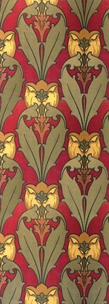 Joplin Tulip - Historic Wallpapers - Victorian Arts - Victorial Crafts - Aesthetic Movement