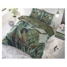"Komplet pościeli z bawełny ""The botanic garden"" Botanical Gardens, Good Morning, Comforters, Nova, Outdoor Blanket, Green, Google, Shop, Dark Blue Color"