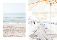 Beach Life in Terracina by Paris in Four Months {Terracina, a small town an hour or two south of Rome, Italy.}