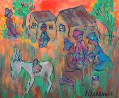 Papeters met donkie South African Artists, Love Art, Artsy, Passion, My Favorite Things, Studio, Painting, Image, Painting Art