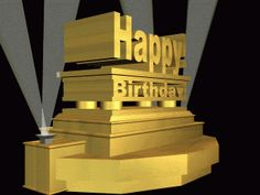 #HappyBirthday #gif.          For more great pins go to @KaseyBelleFox