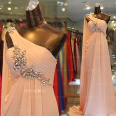 Chiffon prom dresses cheap prom dress prom dresses by sposadress, $159.00