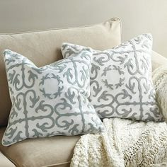 Throw Pillows Ballard Design : Mom s Condo on Pinterest Area Rugs, Designer Pillow and Living Rooms