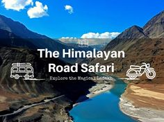 'Road Safari in Ladakh'  Motor Bike Safari and Road Safari is an extreme sport of driving to the limits and beyond. The roads in Ladakh offers superb biking conditions, tough climbs, endless descends and maximum offroad potential for the aventure lovers.  The experience of driving through the mountainous valleys, along the winding passes and incredible heights is an experience of life time