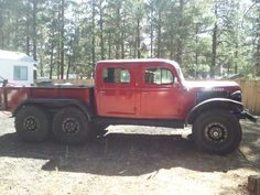 6x6 BEAST Dodge Power Wagon-hahaha, I would make this a daily driver, classics are made to be seen, not kept from the public.