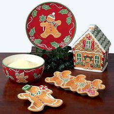 Whimsical Gingerbread House Holiday Cookie Jar Gingerbread Man Collection | eBay