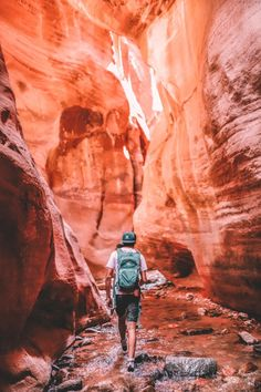 Kanarra Falls a Utah hidden gem | Simply Wander #kanarrafalls #utah #simplywander