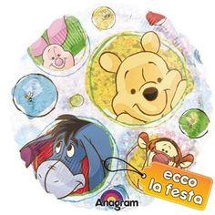 Palloncino Olografico Winnie e Friends  € 3,39