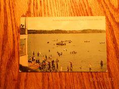 BATHING SCENE AT EXPOSITION PARK, CONNEAUT LAKE PARK ,Pa