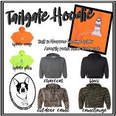 We ❤️ Football at our House!  So what makes the season even better...  These Awesome Tailgate Hoodies!  They will be perfect for those chilly games!  👉Built in Neoprene beverage holder/security pocket inside pouch pocket.  👉Metal bottle/can opener attached to inside pocket  Grab one here-->>>  http://www.mackieshaeboutique.com/apps/webstore/products/show/7590294