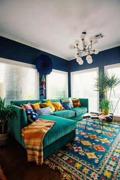 25+ Beautiful Colorful Living Rooms Design and Decor