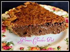 Sweet Tea and Cornbread: German Chocolate Pie! i LOVE PIE. used to eat this at pot lucks and funerals in the South. a great chocolate pie.Plan to make. German Chocolate Pies, Chocolate Pie Recipes, Chocolate Cake, Melt Chocolate, Chocolate Butter, Chocolate Desserts, Pie Dessert, Dessert Recipes, Dessert Ideas
