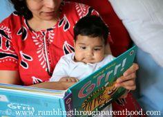 Rambling Through Parenthood : Reading Aloud to a Toddler