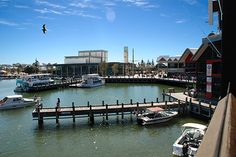 LJ Hooker Real Estate Mandurah Western Australia. Almost the view from our window! No better place for lunch. Yes you could easily forget to come back to the office.