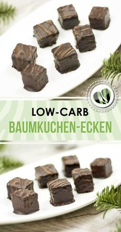 Low carb Baumkuchen-Ecken The tree-lined corners are low-carb and damn delicious. They are delicious and even gluten-free. Paleo Dessert, Healthy Dessert Recipes, Low Carb Sweets, Low Carb Desserts, Sin Gluten, Cookies Healthy, Tree Cakes, Low Carb Dinner Recipes, Keto Recipes