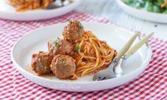 Grain-Free Spaghetti and Meatballs | Danielle Walker's Against all Grain