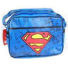 Superman Retro Style Messenger Shoulder Bag