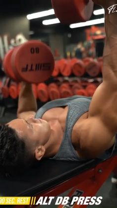 Chest Workouts With Dumbbells, Dumbbell Chest Workout, Chest And Back Workout, Chest Workout Routine, Gym Workout For Beginners, Gym Workout Tips, Workout Humor, Workout Videos, Full Body Workout Program