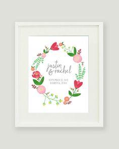 custom floral print