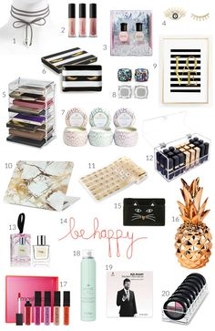 Beauty and fashion blogger Mash Elle rounds up the best gift ideas for women under $25!
