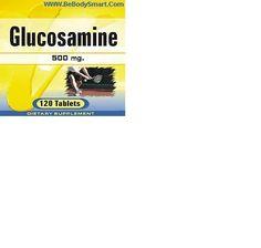 Glucosamine 500mg Coated Tablet 120