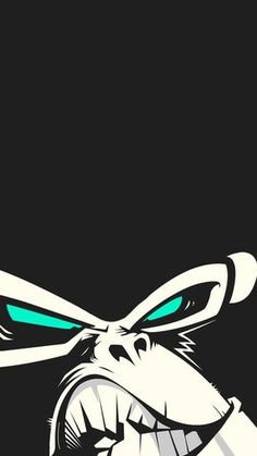 Angry-Gorilla-iPhone-Wallpaper
