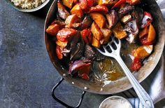 Harissa roasted butternut