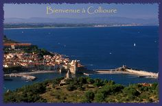 Collioure, France : la perle du Roussillon au coeur de la Catalogne et aux pieds des Pyérénées Orientales.