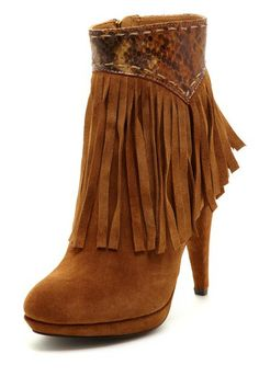 Bona Fringe Bootie, Wow I love this!