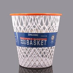 "Spalding® ""Crunch Time"" Basketball Net Wastebasket"