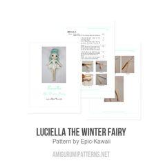 Luciella The Winter Fairy amigurumi pattern - Amigurumipatterns.net