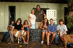 Our first Coop Credits graduating class.