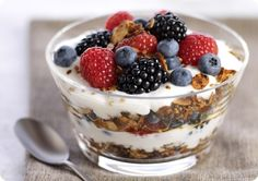 Driscoll's Mixed Berry Parfait with Steel-Cut Granola. | Driscolls.com