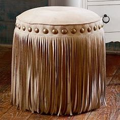 Junk Gypsy Austin Fringe Vanity Stool from PBteen. Saved to Junk Gypsy. Shop more products from PBteen on Wanelo. Boutique Interior, Home Interior, Interior Office, Interior Design, Western Furniture, Diy Furniture, Furniture Design, Colorful Furniture, Plywood Furniture