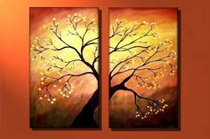 Abstract Tree Paintings | The Flowering Tree - by Peggy Garr from Abstract Trees