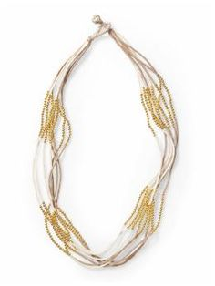 Hive & Honey 8 Strand Color Blocking Necklace