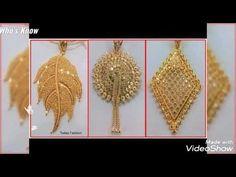 Gold Necklaces, Gold Pendant Necklace, Gold Earrings, Drop Earrings, Crochet Earrings, Jewelry Design, Beautiful, Gold Stud Earrings, Gold Necklace
