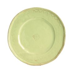 Vietri Bellezza Green Dinner Plate
