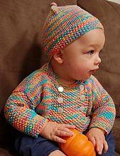 Ravelry: Bamboozle Bambino Jacket pattern by Sandi Rosner