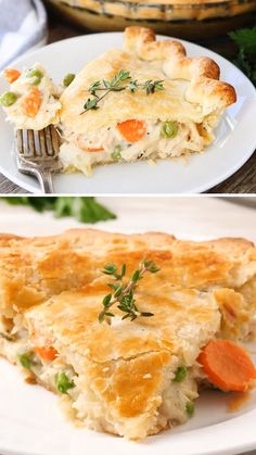 This classic homemade chicken pot pie is the ultimate comfort food. It is simply the best chicken pot pie recipe in the world! Learn how to make this easy chicken pot pie recipe and you'll never buy a chicken pot pie again! Best Chicken Pot Pie, Homemade Chicken Pot Pie, Chicken Recipes, Chicken Pot Pie Recipe Pillsbury, Chicken Pot Pie Recipe From Scratch, Campbells Chicken Pot Pie, Chicken Pop Pie, Chicken Pot Pie Recipe Pioneer Woman, Chicken Pot Pie Crust