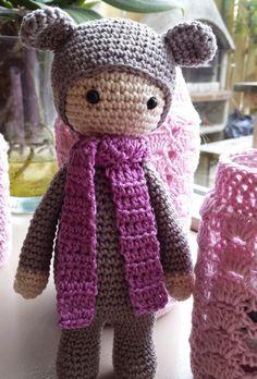 Амигуруми: Мишка Lalylala. Бесплатная схема для вязания игрушки. FREE amigurumi pattern. #амигуруми #amigurumi #схема #pattern #вязание #crochet
