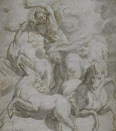 The horses of Leonardo da Vinci.
