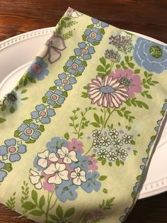 A personal favorite from my Etsy shop https://www.etsy.com/listing/527966838/one-yard-of-vintage-sheet-fabric-blue