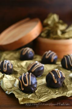 Starbucks Copycat Salted Caramel Cake Pops or Cake Balls - Low Carb and Gluten Free!